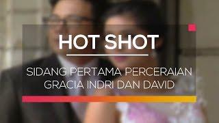 Gracia Indri memutuskan untuk menyudahi pernikahannya dengan kibordis group band NOAH, David Albert. Hal tersebut dipastikan melalui gugatan perceraian yang didaftarkan artis 27 tahun itu ke Pengadilan Negeri (PN) Bandung pada 4 Juli 2017. Materi gugatan perceraian yang didaftarkan oleh Gracia Indri pun segera disidangkan. Pengadilan Negeri Bandung menetapkan tanggal 20 Juli 2017 untuk memulai sidang perdana pasangan yang menikah pada 28 Desember 2014 itu. Simak selengkapnya di Hot Shot.Connect with SCTVWebsite : http://www.sctv.co.id/Facebook : https://www.facebook.com/Surya.Citra.TVTwitter : @SCTV_Instagram : @SCTV_BBM Channel : C00336FAF