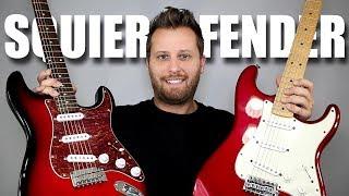 Video SQUIER vs FENDER - Stratocaster Tone Comparison!! MP3, 3GP, MP4, WEBM, AVI, FLV Juli 2018
