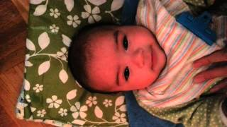 Chinese Persian (Iranian) Baby Trying To Say