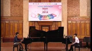 Festival Piano CEG 2014 - Đối Mặt - Đỗ Xuân Hoàng&Lê Tuấn Anh