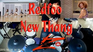 Video Redfoo - New Thang(Electric Drum cover by Neung) MP3, 3GP, MP4, WEBM, AVI, FLV Februari 2019