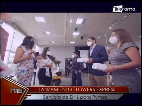 Lanzamiento Flower Express Servicio de DHL para Pymes