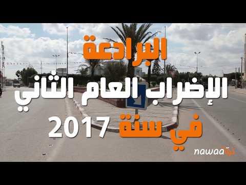 البرادعة: الإضراب العام الثاني في سنة 2017