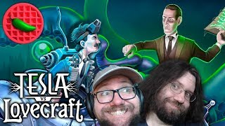 TESLA MADE A MECH! (FOR MONSTER BLASTING!) – Tesla vs Lovecraft (Local Co-op)(Upcoming Game)