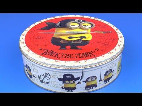 Коробка с Игрушками Миньоны Много ИГРУШКИ для Детей Коллекция Сюрпризов
