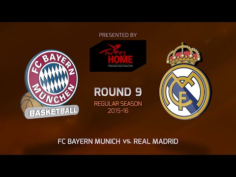 Highlights: RS Round 9, FC Bayern Munich 67-86 Real Madrid