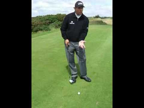 Chipping lesson by Phil Mickelson