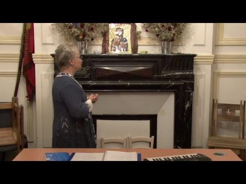 CDS Paris, 5 octobre 2017: Hélène Sejournet - Mémorisation évangile