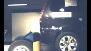 Crash test trasero Citroën C8 en Cesvimap