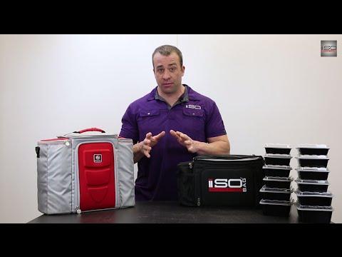 Isobag 6 Meal  VS  6 Pack Bags Innovator 500