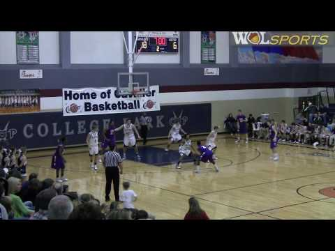 College Park Men's Basketball vs. Lufkin, Friday Night Highlights, 2010
