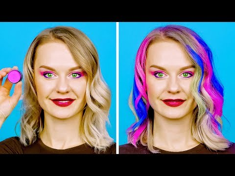30 GENIUS AND EASY HAIR HACKS (видео)