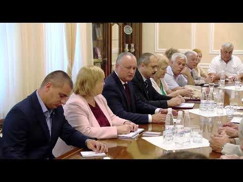 Президент страны провел встречу с руководителями этнокультурных организаций Республики Молдова