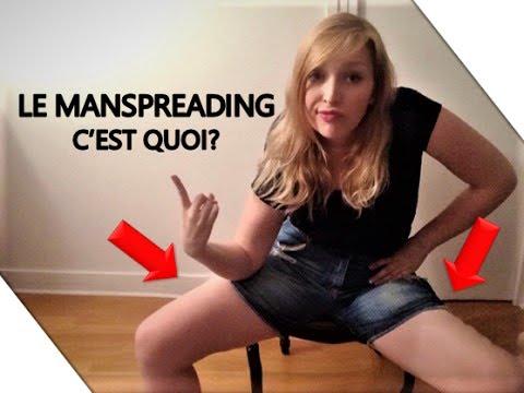 MANSPREADING? AVIS D'UNE FEMINISTE