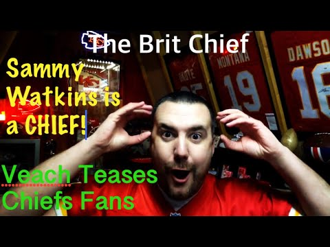 Sammy Watkins Signs for the Chiefs - Fan Reaction - The Brit Chief