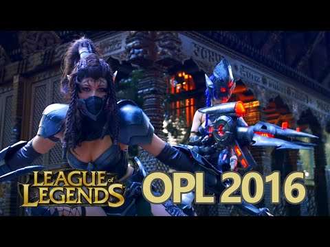 League Of Legends Opl 2016 Cosplay Highlights