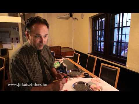 Fekete Péter - A Jókai színház igazgatójának egy napja