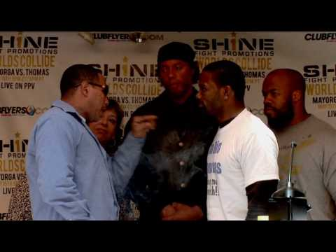 Ricardo Mayorga vs Din Thomas Press Conference Highlights
