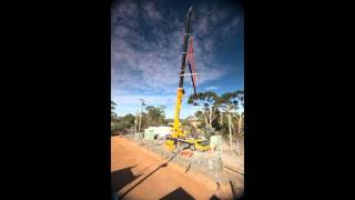 Buninyong Australia  City pictures : Lifting Australia's largest battery into Buninyong