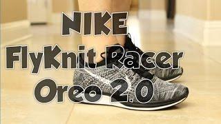 Nike Flyknit Racer Oreo 1.0 Vs 2.0