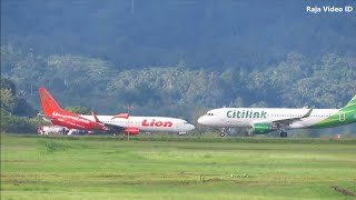 Video Pesawat Citilink Landing dan Lion Air Take Off di Bandara Pattimura Kota Ambon Maluku MP3, 3GP, MP4, WEBM, AVI, FLV April 2019