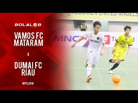 Vamos FC Mataram (6) Vs (1) Dumai FC Riau - Highlights Pro Futsal League 2018