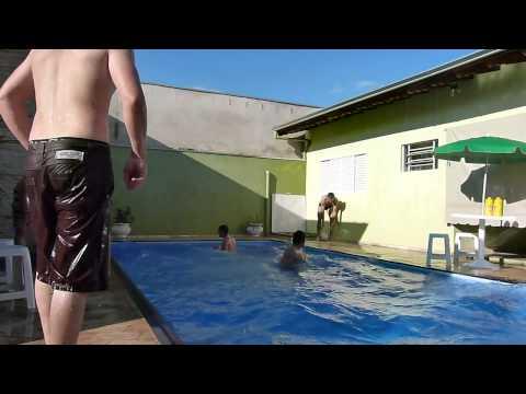 Pulos animais e arriscados 01 - Piscina do Marcelo em Reginópolis