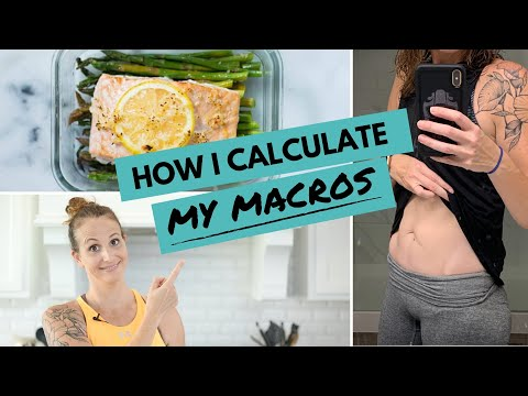 How I Calculate My Macros | Macros For WEIGHT LOSS (My Step-By-Step Process!)