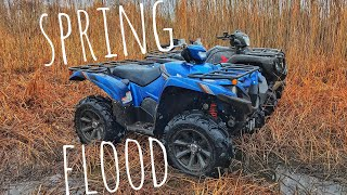 9. Flooded Trails, Honda Rubicon, Yamaha Grizzly, Can Am Outlander XMR