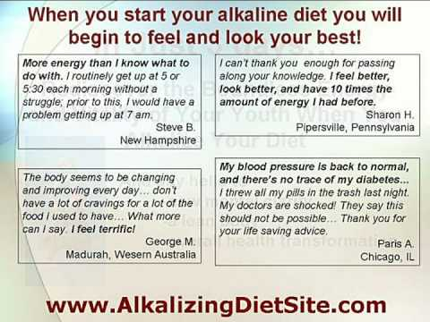 Alkaline Diet : Alkalize Your Body and Regain Youthful Vitality!