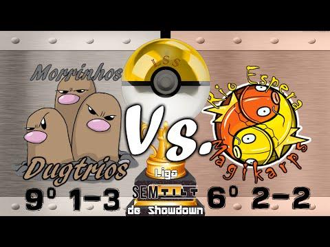 LSS Semana 5 - Morrinhos Dugtrios (9º 1-3) vs. Rio Espera Magikarps (6º 2-2)