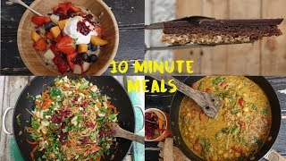 4 Delicious Ten Minute Meals That Happen to be Vegetarian by Brothers Green Eats