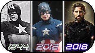 Video EVOLUTION of  Captain America in Movies (1944-2018) History of Avengers Infinity War MP3, 3GP, MP4, WEBM, AVI, FLV Desember 2017