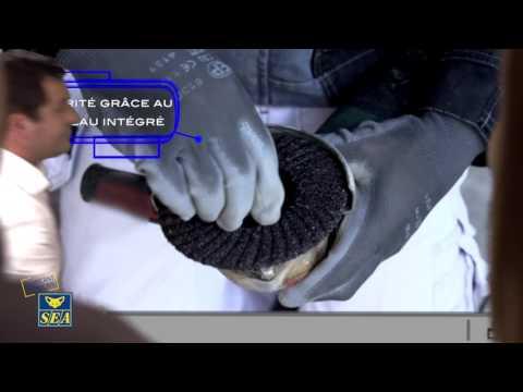 Disque semi-rigide plateau intégré carbure