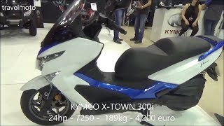 10. The KYMCO X TOWN 300i scooter 2017