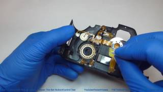 How to repair the Set button and the quick control dial on a Canon 60D camera. Watch video #1 in this repiar series to see how to remove the back from the camera: https://youtu.be/rxc9C1UrVVs