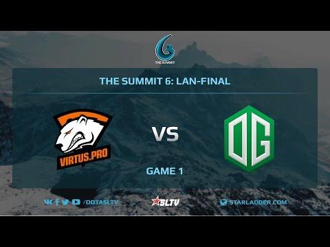 VirtusPro vs OG, Game 1, The Summit 6, LAN-Final