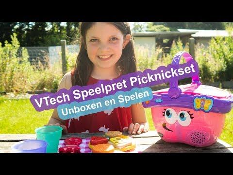 VTech Speelset Picknickset - Unboxen en Spelen