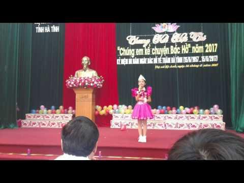 Em Hà Duyên kể chuyện Bác Hồ