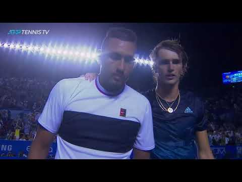 Match Point Moment: Nick Kyrgios Tops Alexander Zverev to Claim Acapulco Title - Thời lượng: 62 giây.
