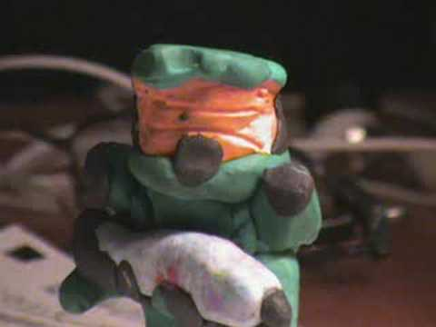 Halo Claymation (видео)
