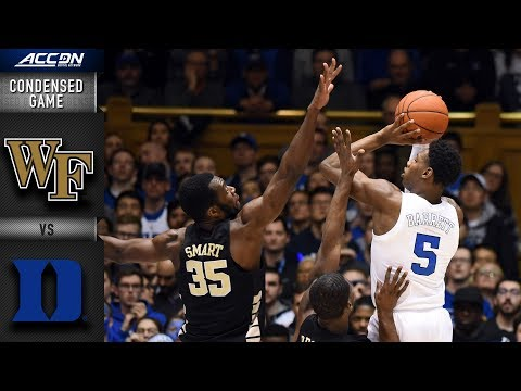 Wake Forest vs. Duke Condensed Game | 2018-19 ACC Basketball