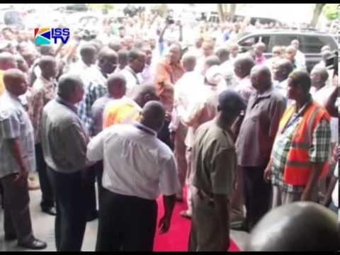 PRES. ELECT UHURU TO RAILA; STOP INCITING KENYANS
