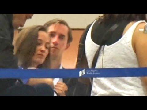 Newlyweds Pippa Middleton And James Matthews Enroute To Roamntic Honeymoon