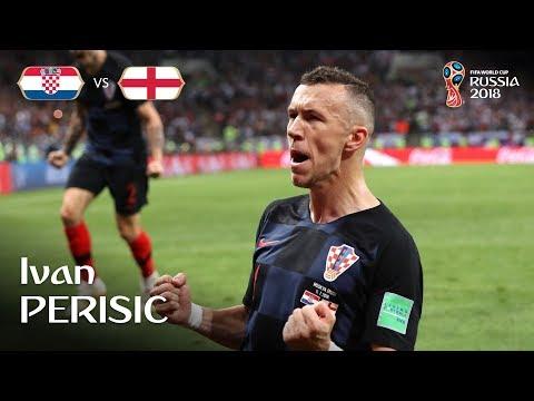 Ivan Perisic Goal – Croatia v England – MATCH 62