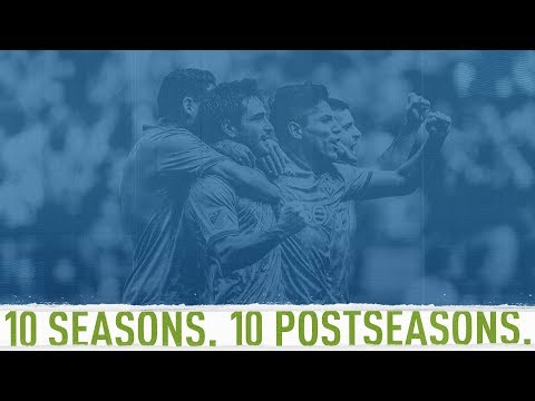 Video: Sounders tie MLS playoff streak record with ten postseason appearances
