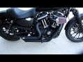2010 Iron 883 Vance and Hines, Screamin Eagle Heavy Breather, and Race tuner