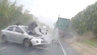 Аварии грузовиков Июль 2016