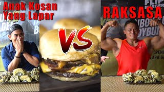 Video SENGIT!!! Battle Makan FLIP BURGER Lawan BODYBUILDER MP3, 3GP, MP4, WEBM, AVI, FLV Maret 2018