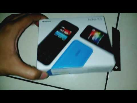 Unboxing Microsoft Nokia 105 single sim (indonesia)